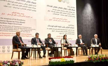 Kashefi at the Conference on the Development of Economic Relations between Iran and the Kurdistan Region of Iraq: The development of new economic horizons and strategies is one of our most important goals at this conference.