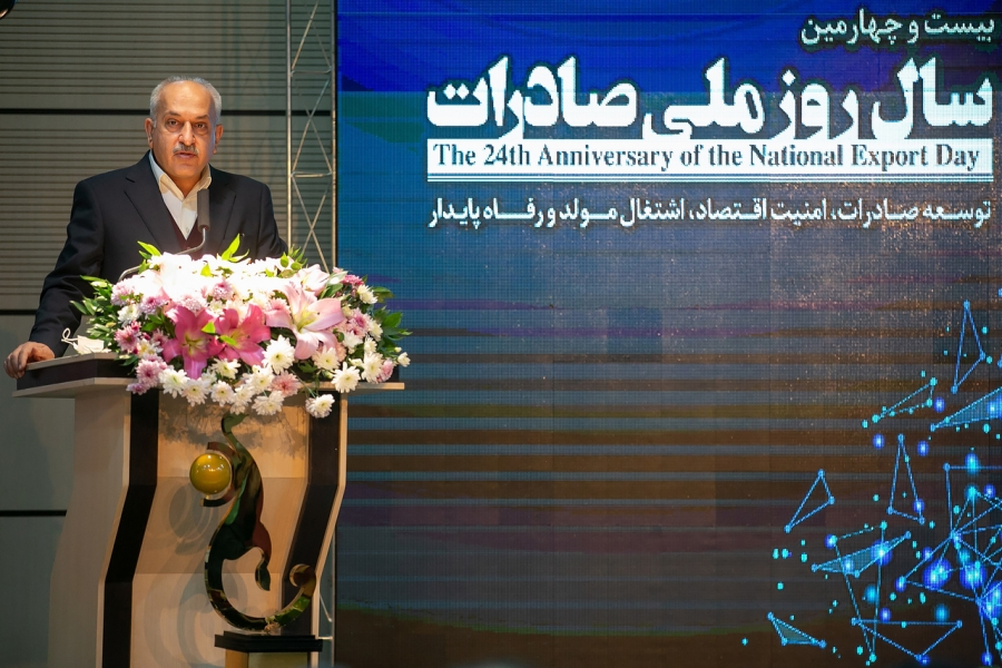 The ceremony to honor the top exporters of Kermanshah Province was held.
